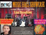 Join us for our final Music Hall Showcase of the year at the Pawling Public Radio studio!
