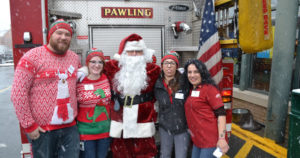Holmes Hose Company #2 Santa Run Dec, 9. 2017