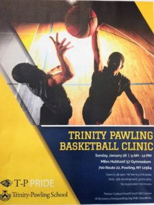 Trinity Pawling Basketball Clinic