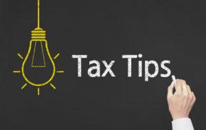 Tax Tips and Tidbits January 19, 2018